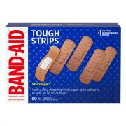 Band-Aid Tough Strips One Size