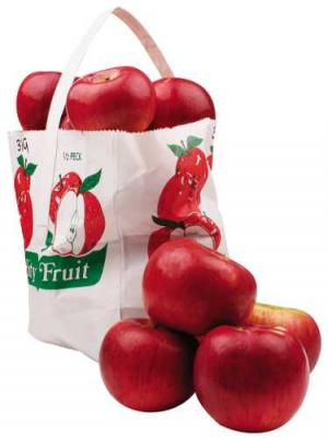 Cortland Apples Tote Bag