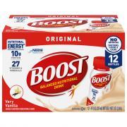 Boost Original Very Vanilla Gluten Free Beverage