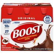 Boost Regular Chocolate Nutrition Drink