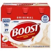 Boost Regular Vanilla Nutrition Drink