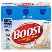 Boost Plus Vanilla Nutrition Drink