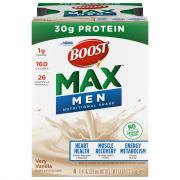 Boost Max 30g Protein Very Vanilla Nutritional Shake