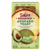 Sabra Breakfast Avocado Toast
