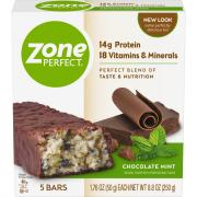 Zone Perfect Chocolate Mint Bars