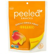Peeled Snacks Organic Mango Gently Dried Fruit
