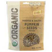 Good Sense Organic Roasted & Salted Pumpkin Seeds Pepitas