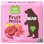 Bear Yo Yo's Raspberry Real Fruit Rolls