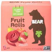 Bear Yo Yo's Strawberry Real Fruit Rolls