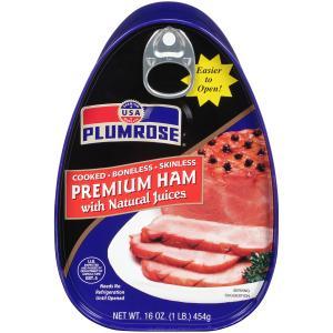 Plumrose Canned Ham