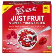 Wyman's Just Fruit & Greek Yogurt Bites