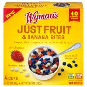 Wyman's Just Fruit & Banana Bites