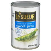 LeSueur 50% Less Sodium Green Peas