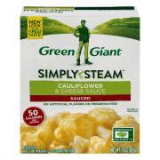 Green Giant Cauliflower in Cheese Sauce
