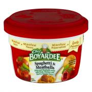 Chef Boyardee Microwave Spaghetti & Meatballs