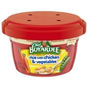 Chef Boyardee Microwave Rice w/Chicken & Vegetables