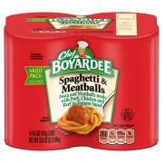 Chef Boyardee Spaghetti and Meatballs