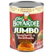 Chef Boyardee Jumbo Spaghetti & Meatballs