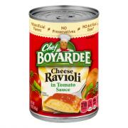 Chef Boyardee Cheese Ravioli