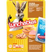 Lunchables Fun Pack Ham & American Cheese