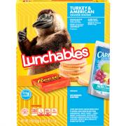 Lunchables Fun Pack Turkey & American Cheese