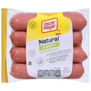 Oscar Mayer Turkey No Nitrates or Nitrites Added Hot Dogs