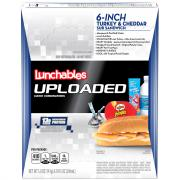 Uploaded Lunchables Turkey & Cheddar Sub