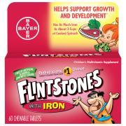 One A Day Flintstones Plus Iron Vitamins