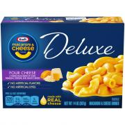 Kraft Deluxe Four Cheese Macaroni & Cheese Dinner