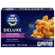 Kraft Deluxe Four Cheese Macaroni & Cheese Dinner