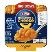 Kraft Original Macaroni & Cheese Big Bowl