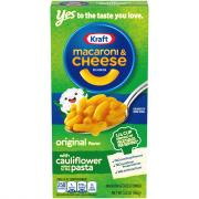 Kraft Original Macaroni & Cheese Dinner With Cauliflower
