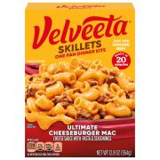 Kraft Velveeta Cheesy Skillets Ultimate Cheeseburger Mac