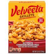 Kraft Velveeta Cheesy Skillets Ultimate Cheeseburger Mac