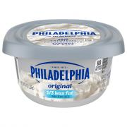 Kraft Philadelphia Light Soft Cream Cheese Tub