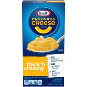 Kraft Premium Thick & Creamy Macaroni & Cheese