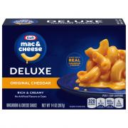 Kraft Deluxe Macaroni & Cheese Dinner