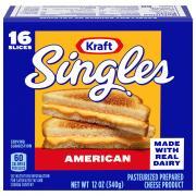 Kraft Yellow American Cheese Singles