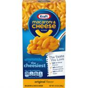 Kraft Macaroni & Cheese Dinner