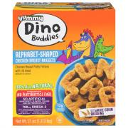 Yummy Dino Buddies Chicken Alphabet Nuggets