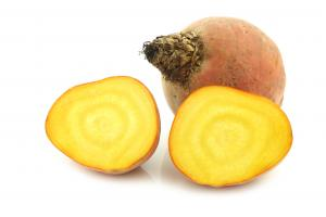 Yellow Beets Bunched