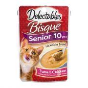 Delectables Bisque Senior Formula Lickable Treat