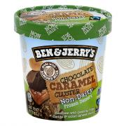 Ben & Jerry's Chocolate Caramel Cluster Non-Dairy