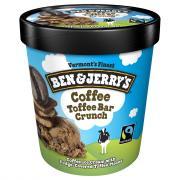 Ben & Jerry's Coffee Heath Bar Crunch Ice Cream