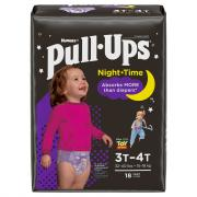 Pull-Ups Nighttime Girl 3T-4T Diapers Jumbo Pack