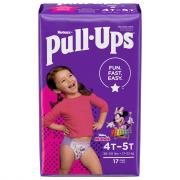 Pull-Ups Learning Designs 4T-5T Girl Jumbo Pack