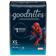 Goodnites Extra Small Boy's Nighttime Underwear
