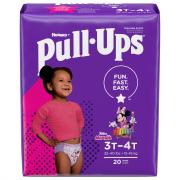 Pull-Ups 3T-4T Girl Diapers Jumbo Pack