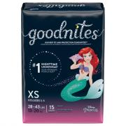 Goodnites Extra Small Girls Nighttime Underwear
