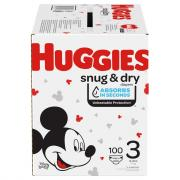 Huggies Snug & Dry Size 3 Giant Pack